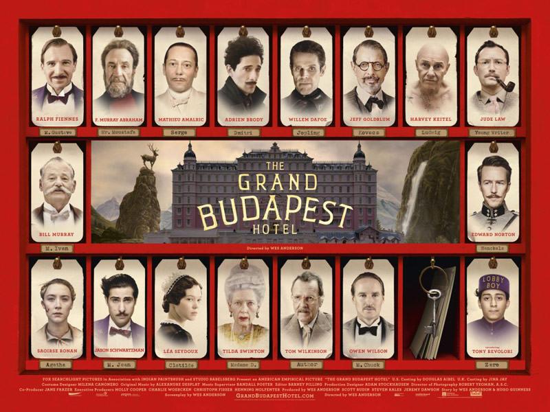 The Grand Budapest - Büyük Budapeşte Oteli (2014) Komedi Macera Filmi
