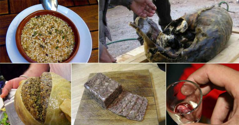 Dünya Mutfağından En İğrenç Yemekler