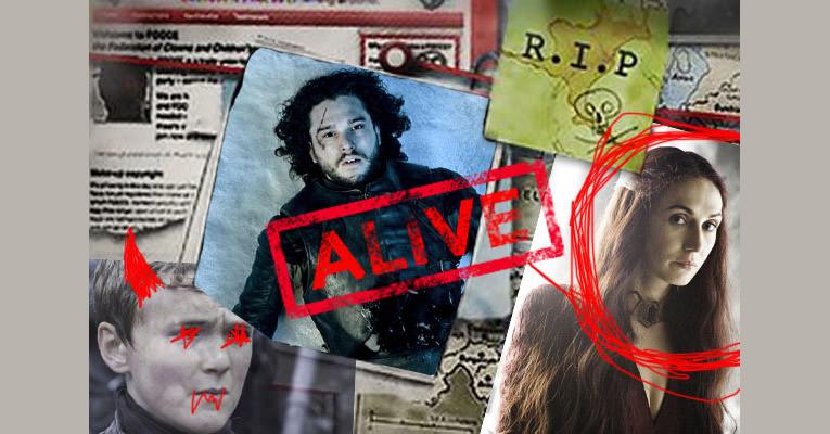 Jon Snow Geri Dirilecek mi ?