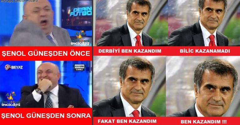 2015 - Beşiktaş & Fenerbahçe Maçı (3-2) Caps'leri