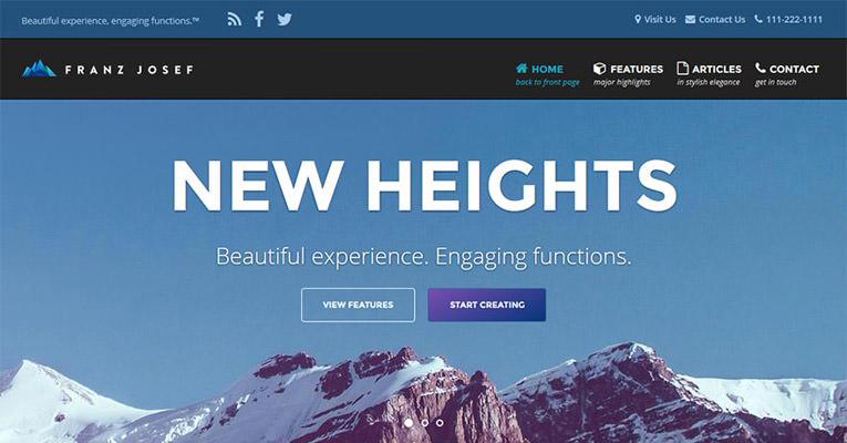 2015 Ağustos Ücretsiz En İyi WordPress Temaları