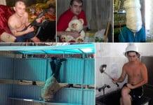 Rusya'dan İlginç İnsan Manzaraları