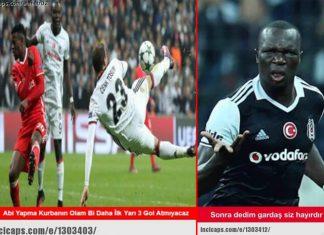Beşiktaş - Benfica Caps'leri