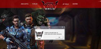 Wolfteam - Yüklenen Dosyada Hata Var Çözümü